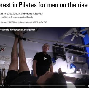 Interest In Pilates For Men On The Rise