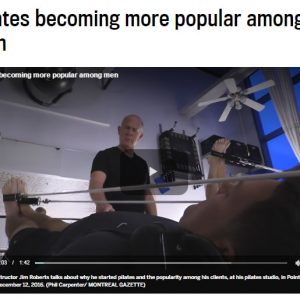 Pilates Becoming More Popular Among Men